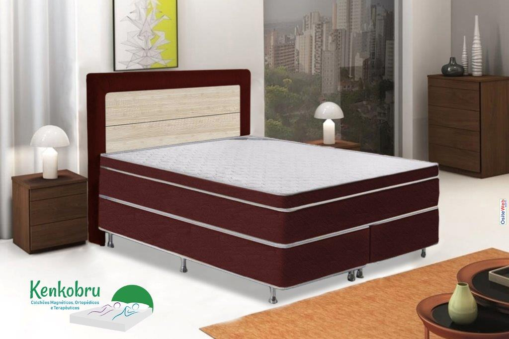 Colchao Queen Size Gold Linha Magnetico Kenkobru Colchoes Magneticos
