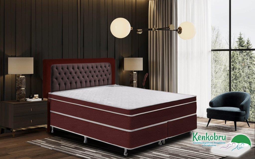 Colchao King Size Gold Linha Ortopedica Kenkobru Colchoes Magneticos