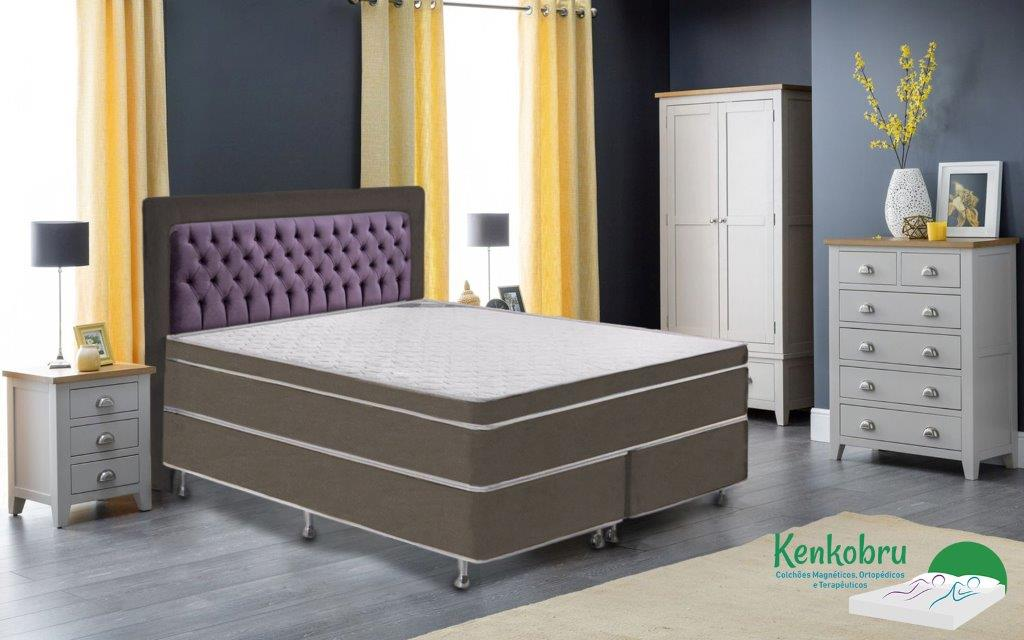 Colchao King Size Gold Linha Magnetico Kenkobru Colchoes Magneticos